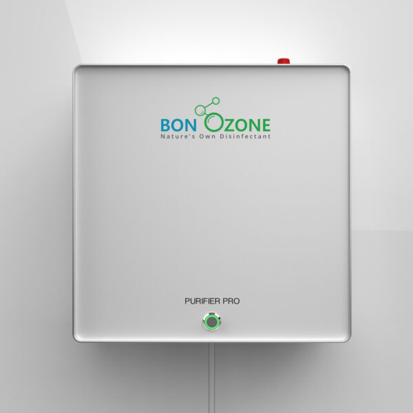 BonOzone Purifier Pro Attached to a wall