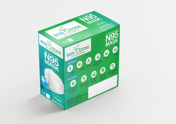 BonOzone N95 Mask Box Back