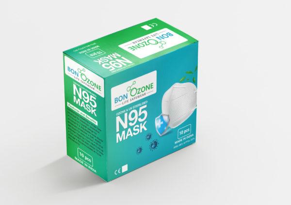 BonOzone N95 Mask Box Front